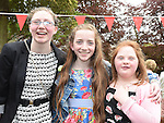 Caoimhe Doherty, Thea Flanagfan and Elsie McCullough who were confirmed at The Church of the Immaculate Conception Termonfeckin. Photo:Colin Bell/pressphotos.ie