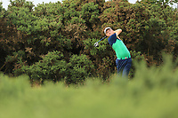Aaron Marshall of Ireland during day 1 of the Boys' Home Internationals played at Royal Dornoch, Dornoch, Sutherland, Scotland. 07/08/2018<br /> Picture: Golffile | Phil Inglis<br /> <br /> All photo usage must carry mandatory copyright credit (&copy; Golffile | Phil Inglis)