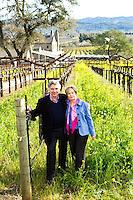 Portraits of Garen & Shari Staglin - Staglin Family Vineyard - 2012
