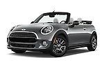 Stock pictures of low aggressive front three quarter view of 2016 MINI Cooper - 2 Door Convertible Low Aggressive