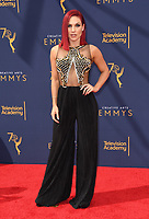 09 September 2018 - Los Angeles, California - Sharna Buress. 2018 Creative Arts Emmy Awards - Arrivals held at Microsoft Theater. <br /> CAP/ADM/BT<br /> &copy;BT/ADM/Capital Pictures