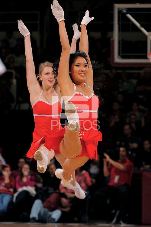 Stanford, CA - JANUARY 2:  Dollies of the Stanford Cardinal during Stanford's 90-60 loss against the Arizona State Sun Devils on January 2, 2009 at Maples Pavilion in Stanford, California.