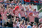 08.06.2019., stadium Gradski vrt, Osijek - UEFA Euro 2020 Qualifying, Group E, Croatia vs. Wales. Fans in the stands. <br /> <br /> Foto © nordphoto / Goran Stanzl/PIXSELL