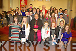 CONFIRMATION: Confirmed in St. Mary's Church, Castlegregory, on Friday, by Bishop Bill Murphy, were the 5th and 6th class pupils of Castlegregory National School, also pictured was Fr. Sean Sheehy.