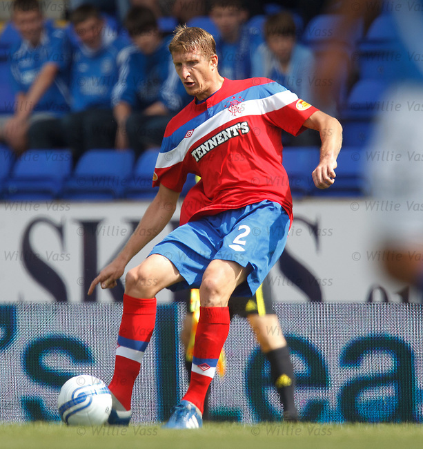 Dorin Goian in action for Rangers