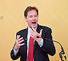Nick Clegg Speech <br /> 3rd June 2016  <br /> Former Deputy Prime Minister and former Leader of the Liberal Democrats, Nick Clegg gives a speech as part of the party's referendum campaign. making the case for 'Remain' and will set out how he believes Britain can lead and shape Europe in the coming years.<br /> <br /> at The National Liberal Club, London Great Britain <br /> <br /> <br /> <br /> Nick Clegg MP for Sheffield Hallam<br /> <br /> Photograph by Elliott Franks <br /> Image licensed to Elliott Franks Photography Services