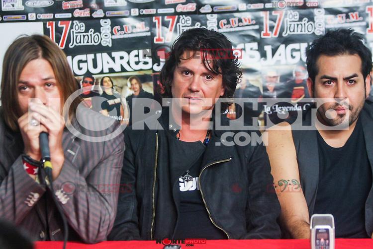 Rueda de Prensa de Jaguares en el CUM.<br />  17/06/2010<br /> ( foto: Luis Gutierrez/NortePhoto)