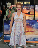 Alex Kingston at the &quot;Spitfire&quot; world film premiere, Curzzon Mayfair, Curzon Street, London, England, UK, on Monday 09 July 2018.<br /> CAP/CAN<br /> &copy;CAN/Capital Pictures