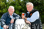 l-r Pa Riordan,Kilmoyley and John O'Connor,Currow enjoying the Abbeydorney Vintage Show on Sunday