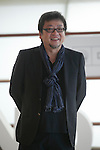 Japanese movie director Mamoru Hosoda poses during `THE BOY AND THE BEAST´ film presentation at 63rd Donostia Zinemaldia (San Sebastian International Film Festival) in San Sebastian, Spain. September 22, 2015. (ALTERPHOTOS/Victor Blanco)