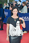Geraldine Maillet attends the red carpet during the 41st Deauville American Film Festival on September 6, 2015 in Deauville, France