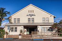 Waialua Community Association building, Haleiwa, O'ahu.