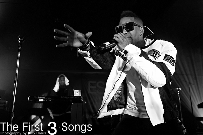 Blackstreet performs at the 2013 Essence Festival at the Mercedes-Benz Superdome in New Orleans, Louisiana.
