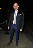 Steven Frayne aka Dynamo at the LFW (Men's) a/w2018 GQ Dinner, Berners Tavern, The London Edition Hotel, Berners Street, London, England, UK, on Monday 08 January 2018.<br /> CAP/CAN<br /> &copy;CAN/Capital Pictures