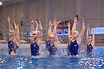 British Olympic Synchronised Swimming Team