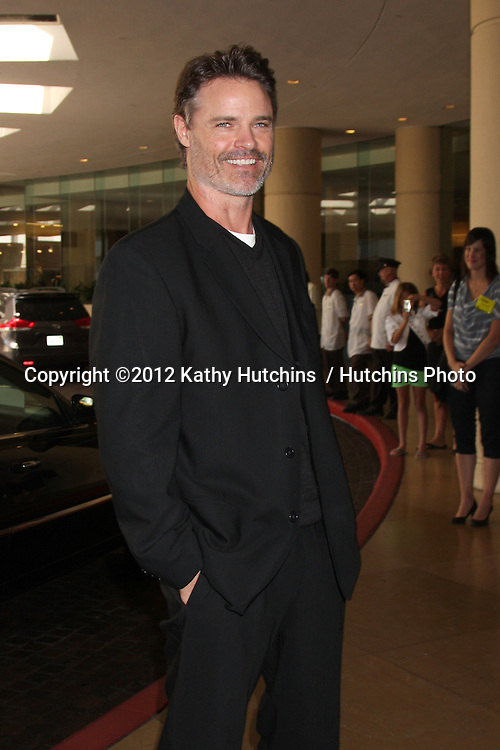 LOS ANGELES - AUG 2:  Dylan Neal arrives at the Hallmark Channel TCA Press Tour 2012 at Beverly Hilton Hotel on August 2, 2012 in Beverly Hills, CA