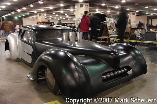 Keith Coleman's hand-made hot rod at the 2007 Detroit Autorama
