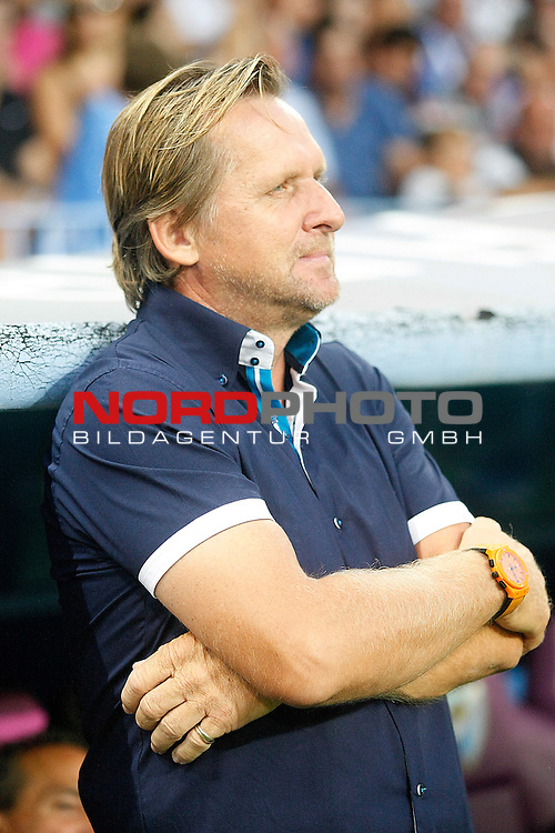 Malaga's coach Bernd Schuster during La Liga match.August 25,2013. Foto © nph / Acero)