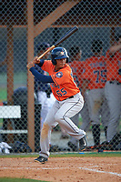 Houston Astros Arturo Michelena (55) during a minor league Spring Training game against the Detroit Tigers on March 30, 2016 at Tigertown in Lakeland, Florida.  (Mike Janes/Four Seam Images)