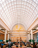 SINGAPORE, Asia,  interior view of a lobby at Ritz Carlton Hotel