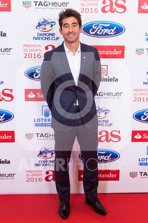 "Marc Lopez during the ""As sports Awards"" at Palace Hotel in Madrid, Spain. december 19, 2016. (ALTERPHOTOS/Rodrigo Jimenez)"