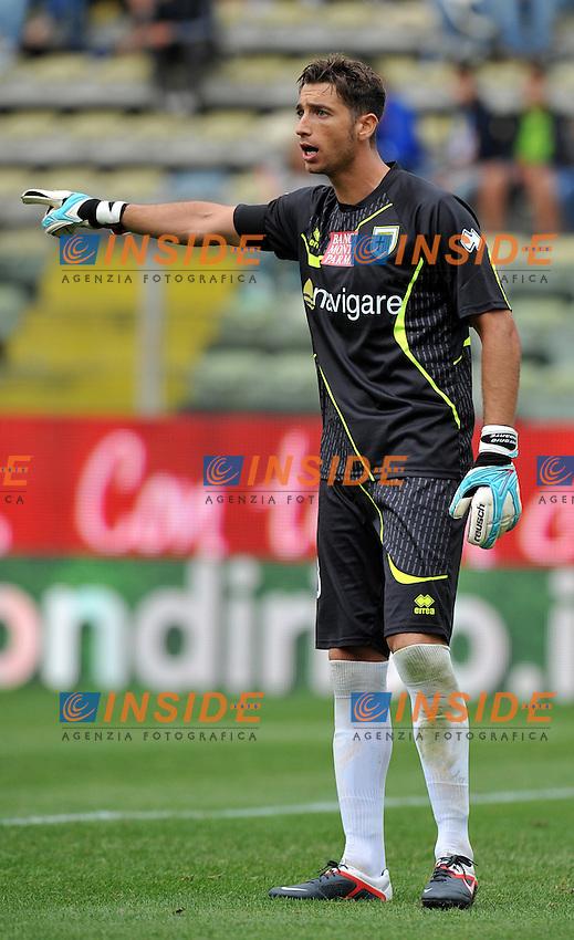 "Antonio MIRANTE (Parma).Parma 18/9/2011 Stadio ""Ennio Tardini"".Serie A 2011/2012 .Football Calcio Parma Vs Chievo Verona.Foto Insidefoto Alessandro Sabattini."