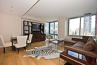 Living Room at 225 West 60th Street