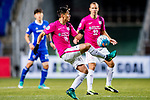 Kitchee Midfielder Huang Yang in action during their AFC Champions League 2017 Playoff Stage match between Ulsan Hyundai FC (KOR) vs Kitchee SC (HKG) at the Ulsan Munsu Football Stadium on 07 February 2017 in Ulsan, South Korea. Photo by Chung Yan Man / Power Sport Images