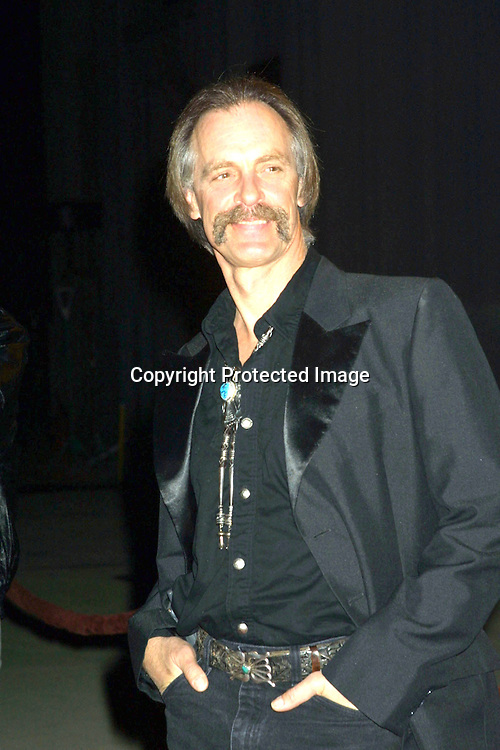 "©2003 Kathy Hutchins/ HUTCHINS PHOTO.""MONTE WALSH"" SCREENING.BURBANK, CA.JANUARY 8,2003.STEPHEN J. ROSS THEATER, WARNER BROTHERS STUDIO...KEITH CARRADINE"