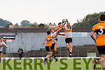 Johnny Buckley pulls the ball from the sky Dr Crokes  during their County Championship clash in Fitzgerald Stadium on sunday