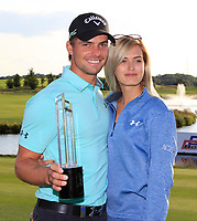 Haydn Porteous (RSA) winner of the D+D Real Czech Masters at the Albatross Golf Resort, Prague, Czech Rep. 03/09/2017<br /> Picture: Golffile   Thos Caffrey<br /> <br /> <br /> All photo usage must carry mandatory copyright credit     (&copy; Golffile   Thos Caffrey)
