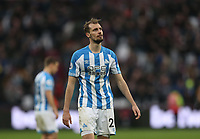 Huddersfield Town's Jon Gorenc Stankovic at the final whistle<br /> <br /> Photographer Rob Newell/CameraSport<br /> <br /> The Premier League - West Ham United v Huddersfield Town - Saturday 16th March 2019 - London Stadium - London<br /> <br /> World Copyright © 2019 CameraSport. All rights reserved. 43 Linden Ave. Countesthorpe. Leicester. England. LE8 5PG - Tel: +44 (0) 116 277 4147 - admin@camerasport.com - www.camerasport.com