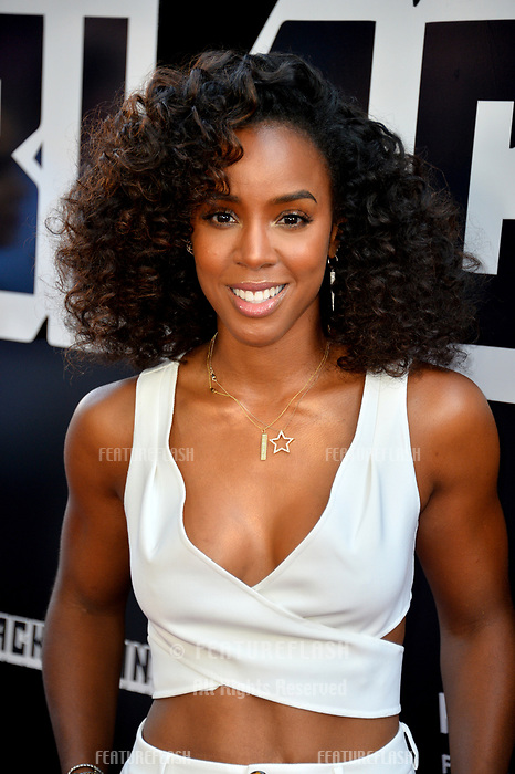 "Kelly Rowland at the Los Angeles premiere of ""BlacKkKlansman"" at the Academy's Samuel Goldwyn Theatre, Beverly Hills, USA 08 Aug. 2018<br /> Picture: Paul Smith/Featureflash/SilverHub 0208 004 5359 sales@silverhubmedia.com"
