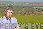 PLANTING: Currow man Padraig Cronin overlooking the forestry which he and neighbouring farmers are harvesting as part of a new forestry co-operative in the area.