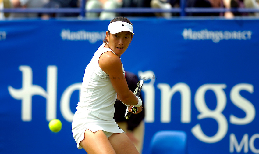 Photo: Alan Crowhurst..WTA The Hastings Direct International Championships, Eastbourne. 19/06/2006. Ai Sugiyama of Japan.