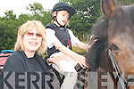 SWEET SUCCESS: Joanna  Harrington and her daughter Georgia pictured at the Kenmare Special Needs Group Ltd Riding For The Disabled. .   Copyright Kerry's Eye 2008