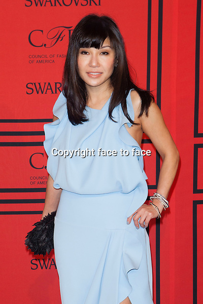 NEW YORK, NY - JUNE 3: Mimi So at the 2013 CFDA Fashion Awards at Lincoln Center's Alice Tully Hall in New York City. June 3, 2013. <br /> Credit: MediaPunch/face to face<br /> - Germany, Austria, Switzerland, Eastern Europe, Australia, UK, USA, Taiwan, Singapore, China, Malaysia, Thailand, Sweden, Estonia, Latvia and Lithuania rights only -