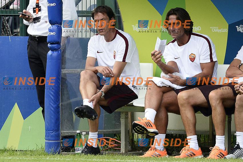 Pinzolo (Tn) 11/07/2015 - amichevole / Roma-Gyirmot Fc Gyor / foto Daniele Buffa/Image Sport/Insidefoto<br /> nella foto: Rudi Garcia