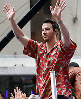 June 07, 2019  Kevin Jonas  of Jonas Brothers at Today Show Concert Series to perform,  talk about new album Happiness Begins and tour in New York June 07, 2019   <br /> CAP/MPI/RW<br /> ©RW/MPI/Capital Pictures
