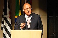SÃO PAULO,SP, 05.10.2015 - ALCKMIN-SP - Geraldo Alckmin, governador de São Paulo durante divulgação dos dados do índice de Efetividade da Gestão, referente ao ano de 2014 pelo Tribunal de contas do Estado de São Paulo (TCESP), no Centro de Convenções Rebouças na região oeste da cidade de São Paulo nesta segunda-feira, 05. (Foto: Gabriel Soares/Brazil Photo Press)