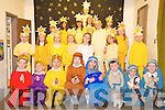 Dromclough School Xmas Concert : Senior infants from Dromclough NS who took part in the school concert on Tuesday morning last.