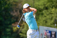 Tommy Fleetwood (ENG) on the 3rd during the first round of the WGC Bridgestone Invitational, Firestone country club, Akron, Ohio, USA. 03/08/2017.<br /> Picture Ken Murray / Golffile.ie<br /> <br /> All photo usage must carry mandatory copyright credit (&copy; Golffile | Ken Murray)