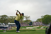 Kiradech Aphibarnrat (THA) on the 17th tee during the final round at the PGA Championship 2019, Beth Page Black, New York, USA. 19/05/2019.<br /> Picture Fran Caffrey / Golffile.ie<br /> <br /> All photo usage must carry mandatory copyright credit (© Golffile | Fran Caffrey)