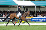 Caroline Powell during day 2 of the dressage phase at the 2012 Land Rover Burghley Horse Trials in Stamford, Lincolnshire,UK.