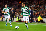 UEFA Champions League 2017/2018 - Matchday 6.<br /> FC Barcelona vs Sporting Clube de Portugal: 2-0.<br /> Bruno Fernandes.