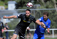 Action from the 2018 ISPS Handa Premiership football match between Team Wellington and Southern United at David Farrington Park in Wellington, New Zealand on Sunday, 11 November 2018. Photo: Dave Lintott / lintottphoto.co.nz