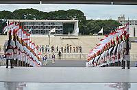 BRASÍLIA, DF, 12.12.2013 – VISITA DE ESTADO DO PRESIDENTE FRANCÊS FRANÇOIS HOLLANDE –Viita do presidente da França François Hollande  ao Brail nesta quinta-feira, 12, no Palácio do Planalto em Brasília. (Foto: Ricardo Botelho / Brazil Photo Press).