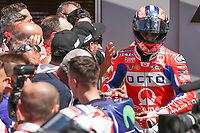 Danilo Petrucci of Italy and OCTO Pramac Racing third during  the Moto GP Grand Prix at the Mugello race track on June 4, 2017.<br /> Photo by Danilo D'Auria.<br /> <br /> Danilo D'Auria/UK Sports Pics Ltd/Alterphotos /NortePhoto.com