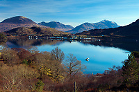 Loch Shieldaig, Shieldaig and the mountains of Torridon, Ross & Cromarty, Northwest Highlands