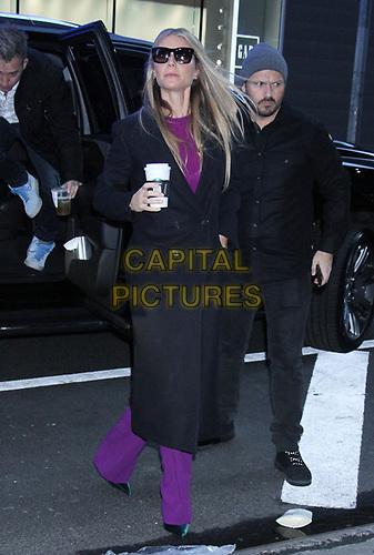 NEW YORK, NY - January 09: Gwyneth Paltrow seen at Good Morning America in New York City on January 09, 2019. <br /> CAP/MPI/RW<br /> ©RW/MPI/Capital Pictures